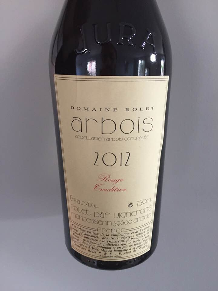 Domaine Rolet – Rouge Tradition 2012 – Arbois