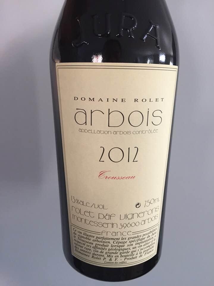 Domaine Rolet – Trousseau 2012 – Arbois