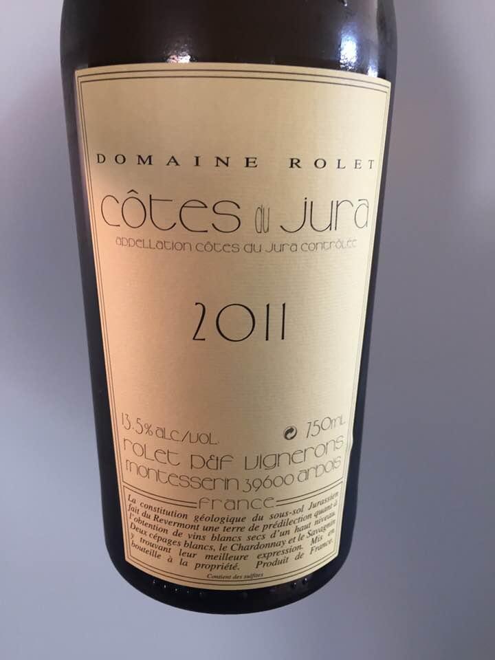 Domaine Rolet 2011 – Côtes du Jura