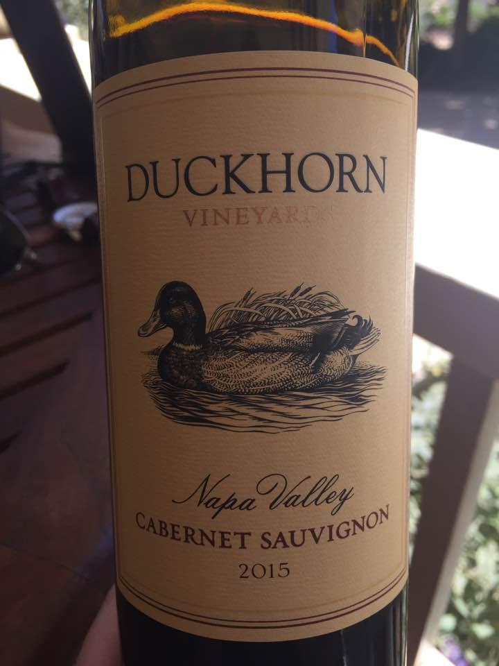 Duckhorn Vineyards – Cabernet Sauvignon 2015 – Napa Valley