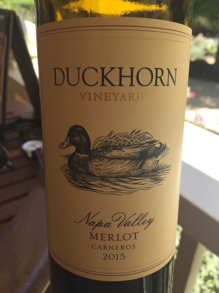 Duckhorn Vineyards – Merlot 2015 – Carneros, Napa Valley