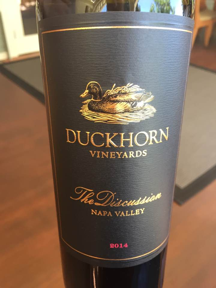 Duckhorn Vineyards – The Discussion 2014 – Napa Valley