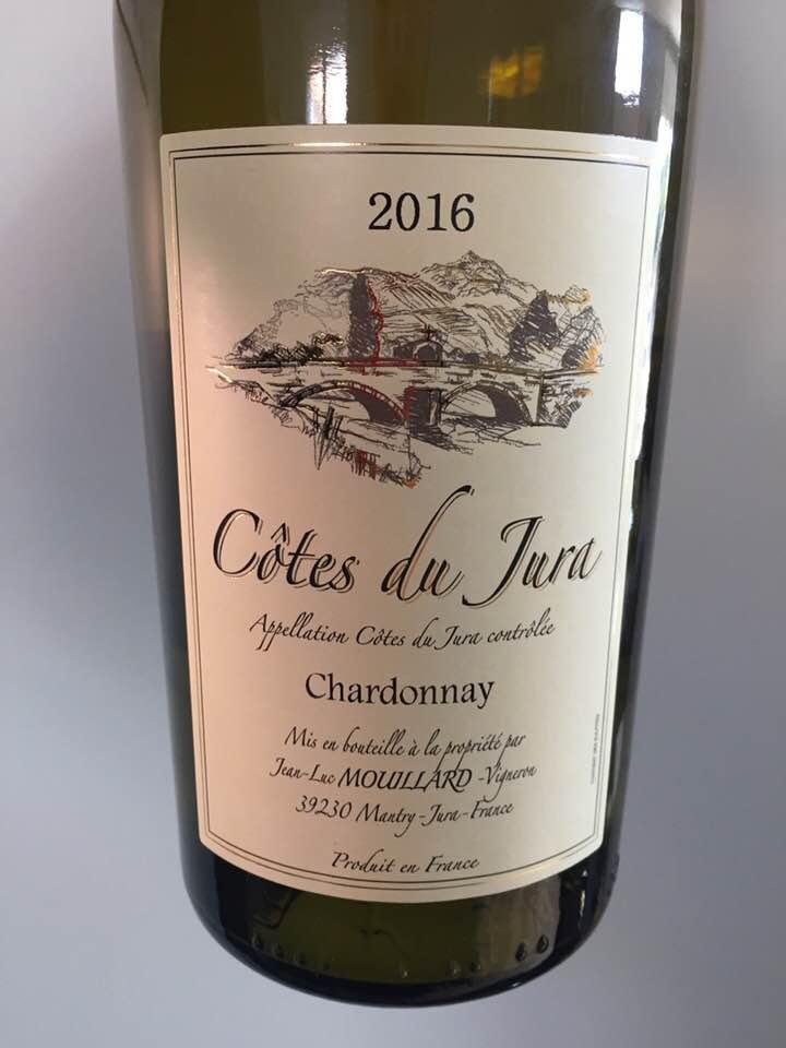 Jean-Luc Mouillard – Chardonnay 2016 – Côtes du Jura