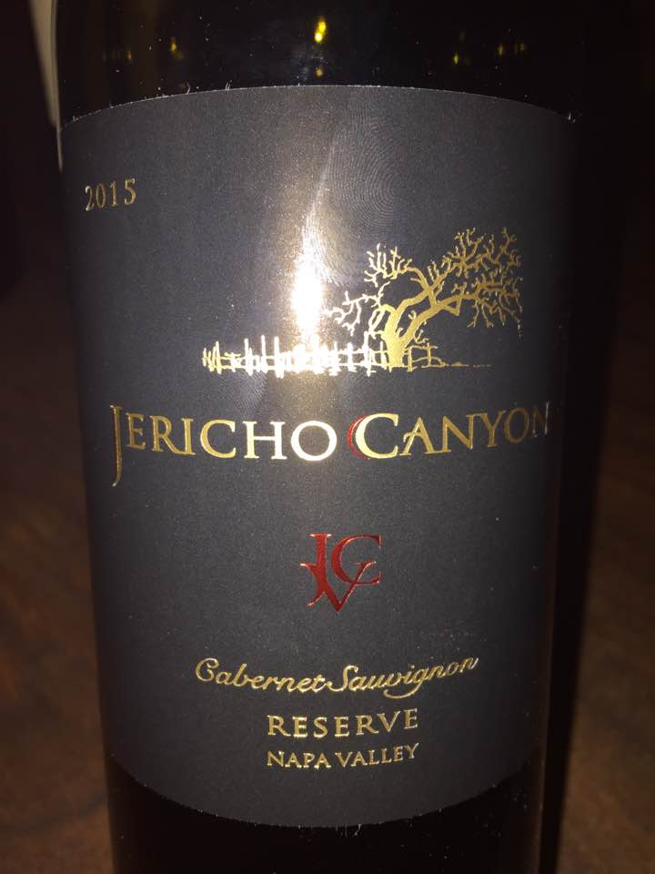 Jericho Canyon Vineyard – Cabernet Sauvignon 2015, Reserve – Calistoga, Napa Valley