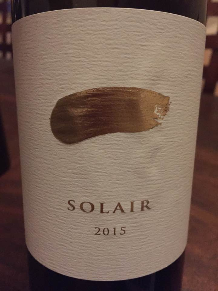 Jericho Canyon Vineyard – Solair 2015 – Calistoga, Napa Valley