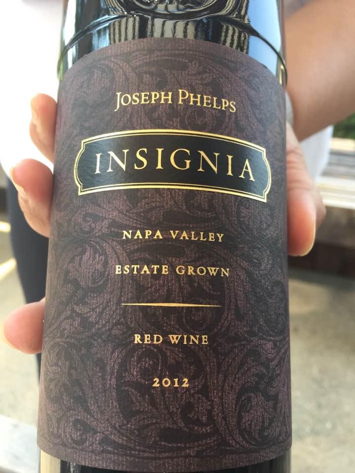 Joseph Phelps – Insignia 2012, Estate Grown – Napa Valley