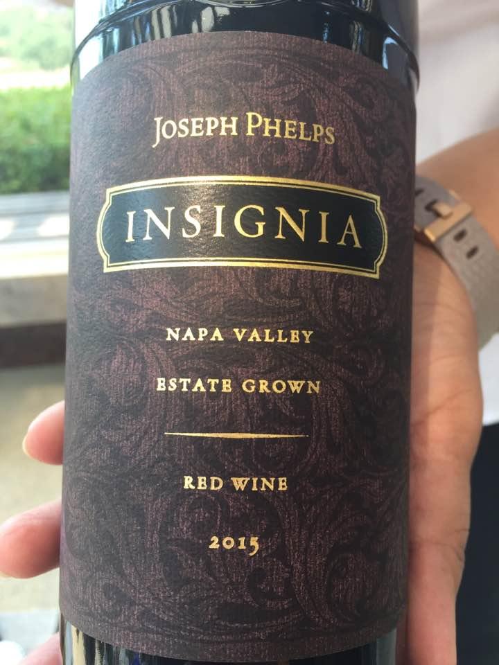 Joseph Phelps – Insignia 2015, Estate Grown – Napa Valley