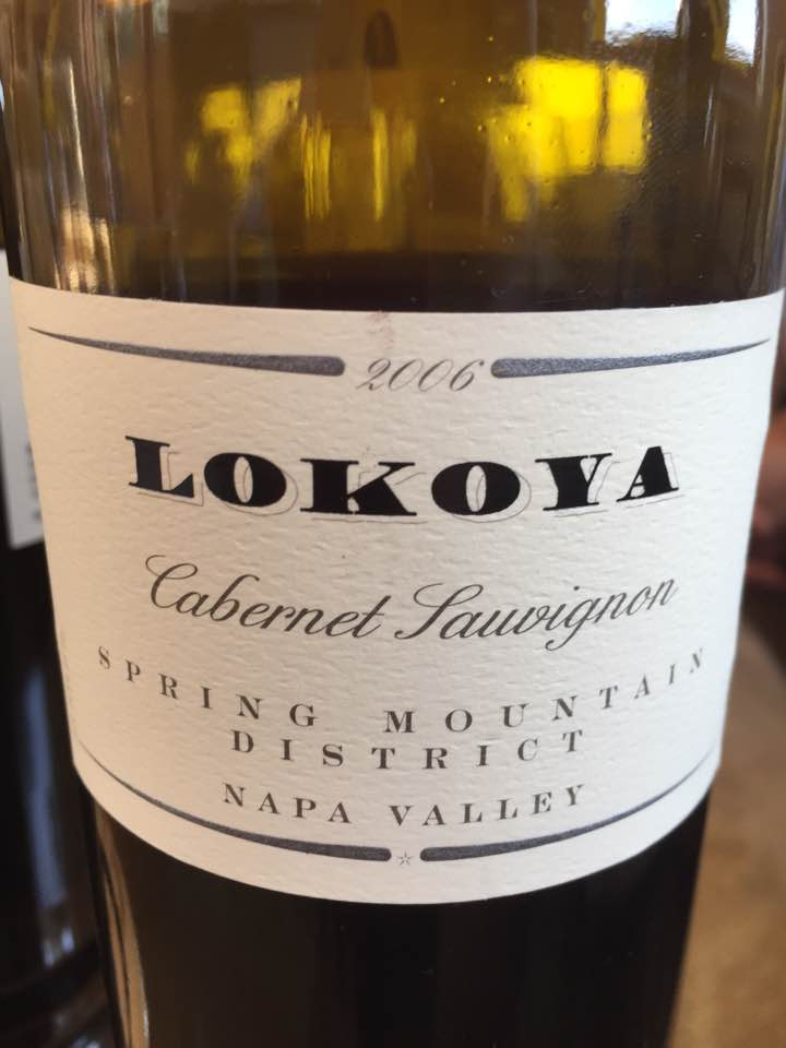 Lokoya – Cabernet Sauvignon 2006 – Spring Mountain District, Napa Valley