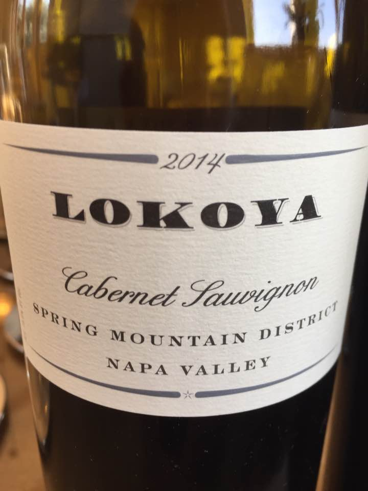 Lokoya – Cabernet Sauvignon 2014 – Spring Mountain District, Napa Valley