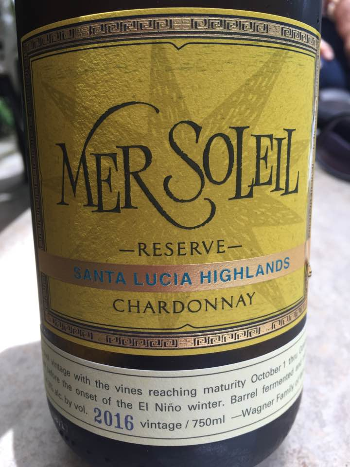 MerSoleil – Silver – Chardonnay Reserve 2016, Unoaked – Montery Co. – California
