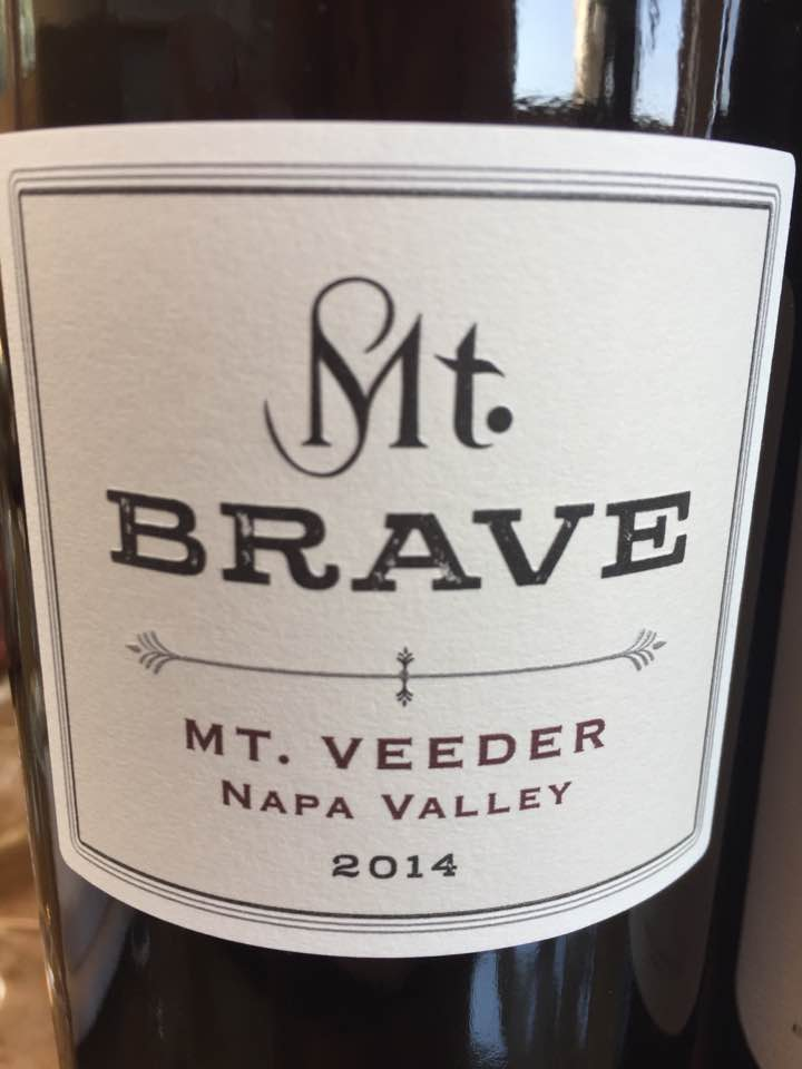 Mt Brave 2014 – Mt. Veeder, Napa Valley