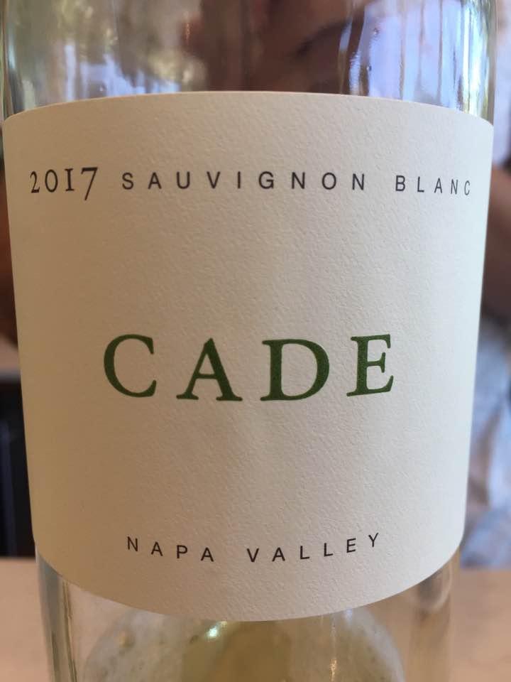Odette – Cade – Sauvignon Blanc 2017 – Napa Valley