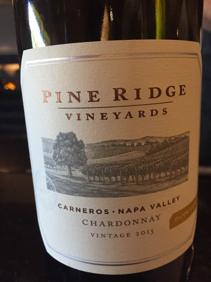 Pine Ridge – Carneros, Chardonnay 2015 – Napa Valley