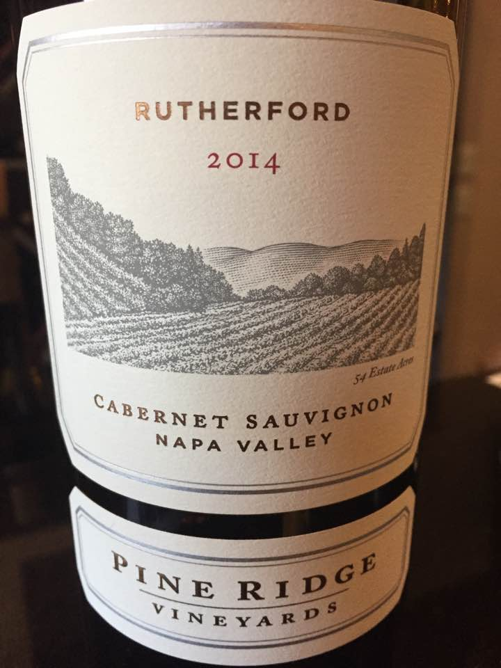Pine Ridge Vineyard – Cabernet Sauvignon 2014, Rutherford – Napa Valley