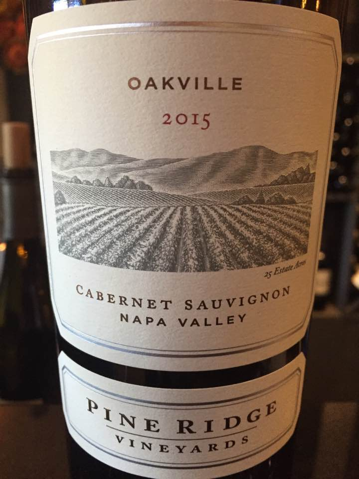 Pine Ridge Vineyard – Cabernet Sauvignon 2015, Oakville – Napa Valley