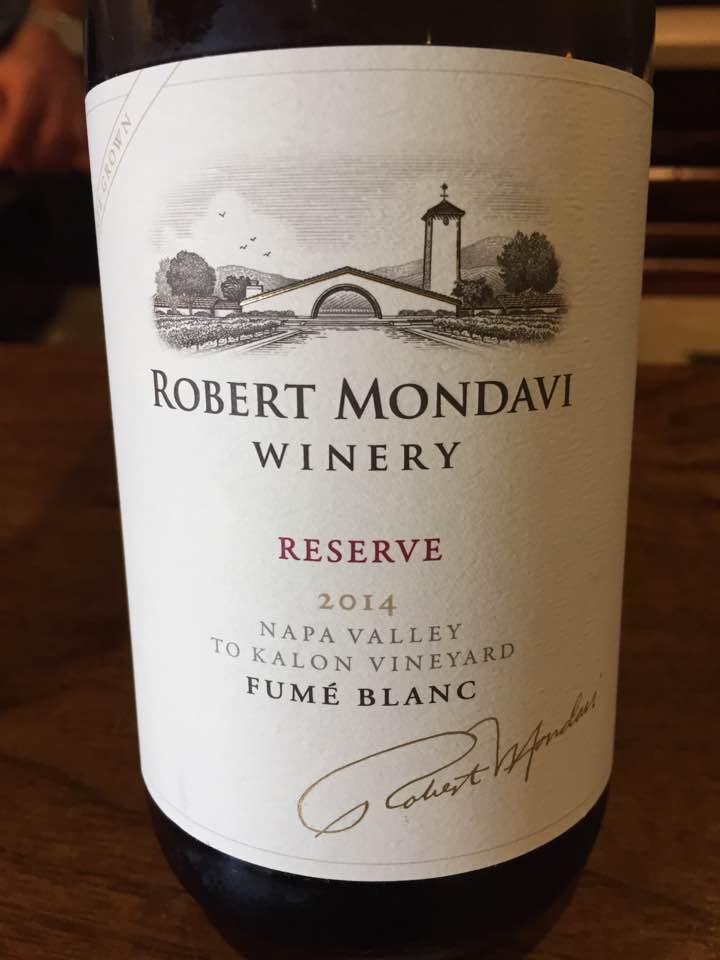 Robert Mondavi – Fumé Blanc 2014– To Kalon Vineyard, Napa Valley