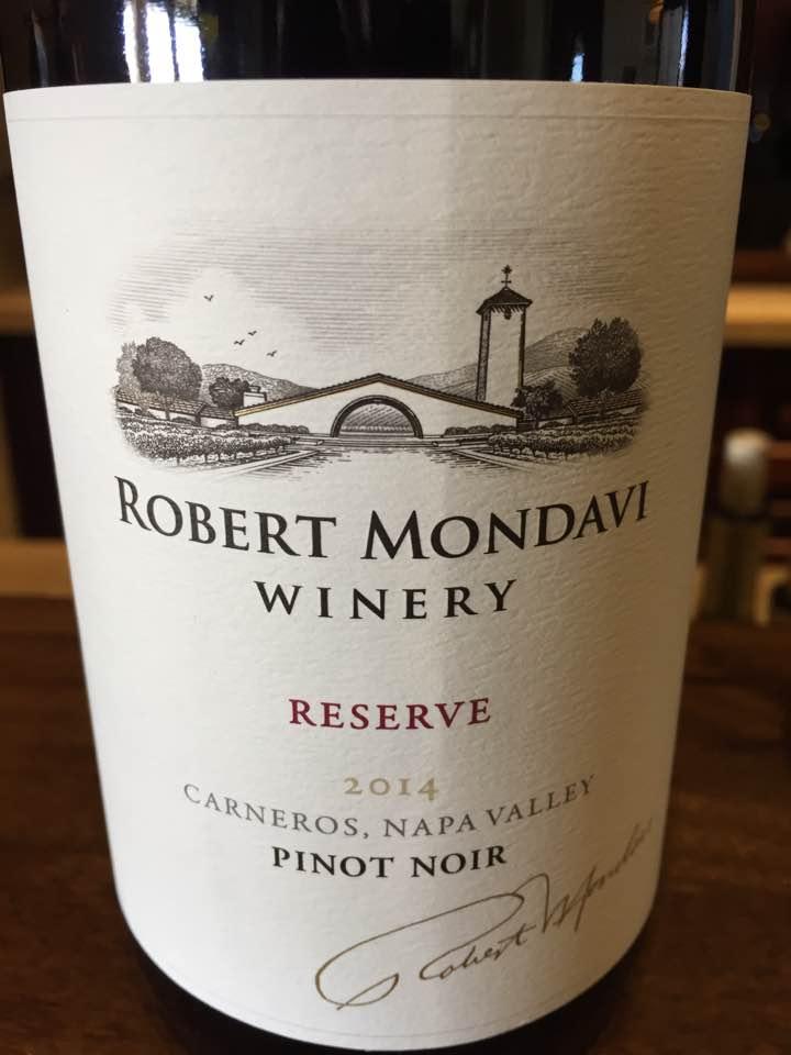 Robert Mondavi – Pinot Noir 2014 Reserve, Carneros– Napa Valley