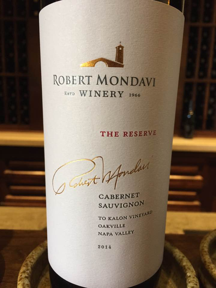 Robert Mondavi – The Reserve, 2014 Cabernet Sauvignon 2014 – To Kalon Vineyard, Oakville – Napa Valley
