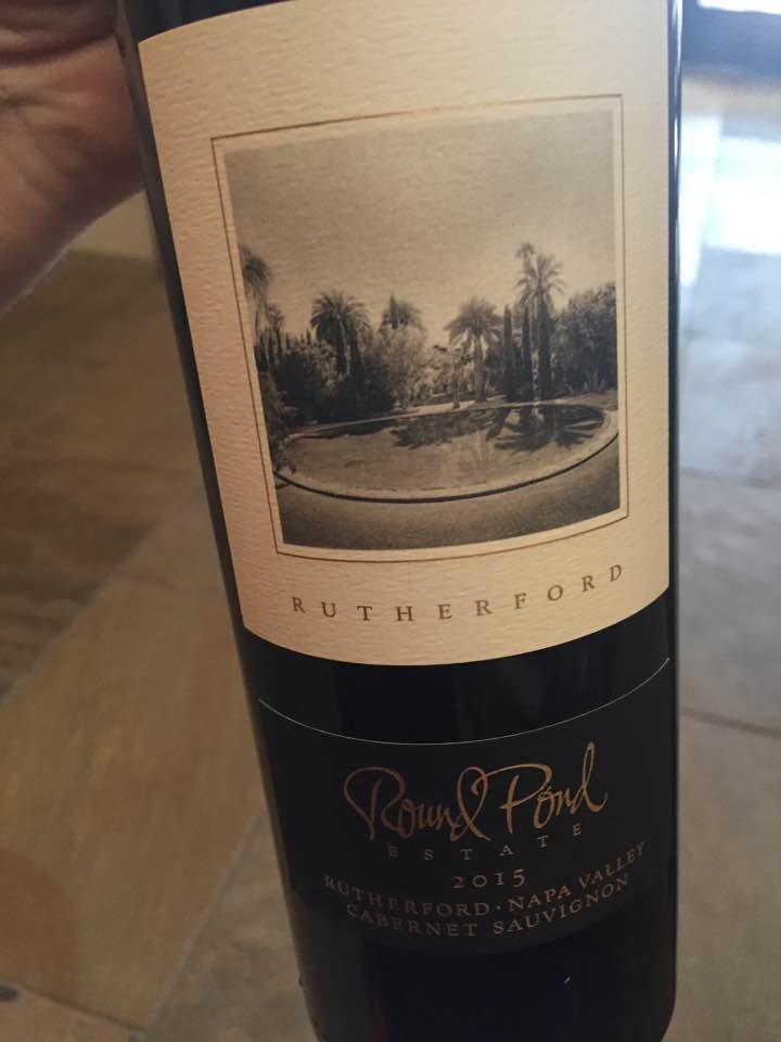 Round Pond Estate – Cabernet Sauvignon 2015 Rutherford – Napa Valley