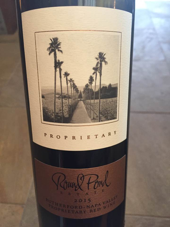 Round Pond Estate – Proprietary Red Wine 2015 – Rutherford, Napa Valley
