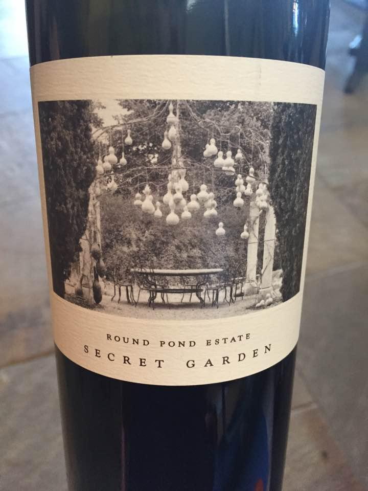 Round Pond Estate – Secret Garden, Cabernet Sauvignon 2014 – Gravel Series – Oakville, Napa Valley