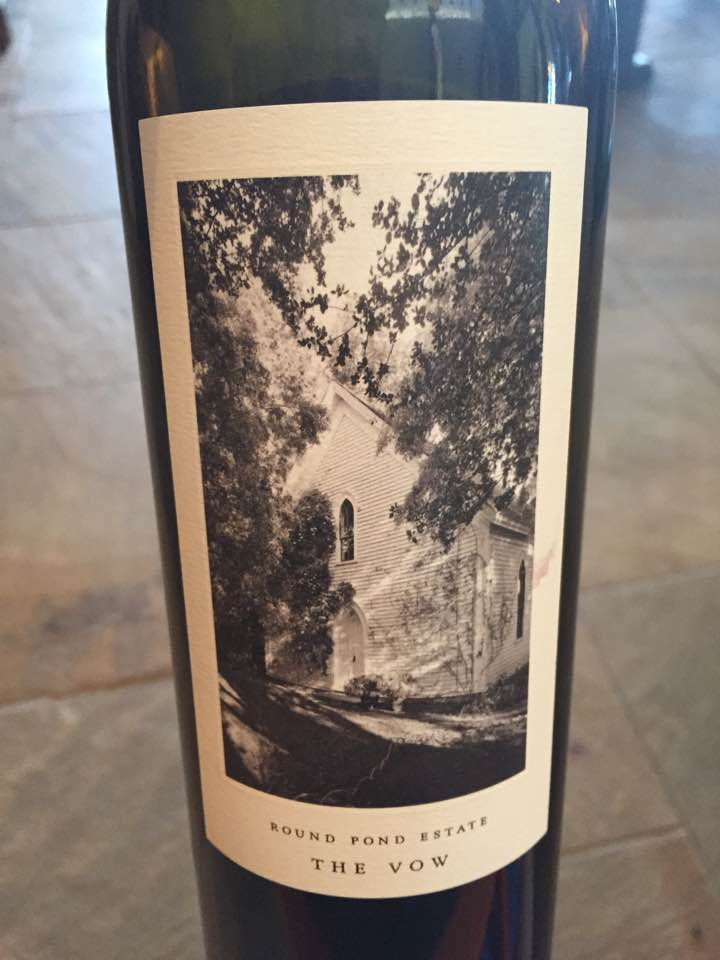 Round Pond Estate – The Vow, Cabernet Sauvignon 2014 – Gravel Series – Rutherford, Napa Valley