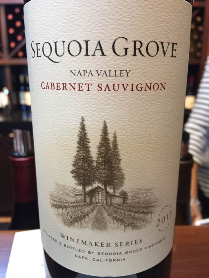 Sequoia Grove – Cabernet Sauvignon 2015, Winemaker Séries – Napa Valley