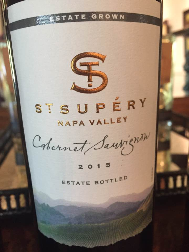 St Supéry – Estate Vineyard Cabernet Sauvignon 2015 – Napa Valley