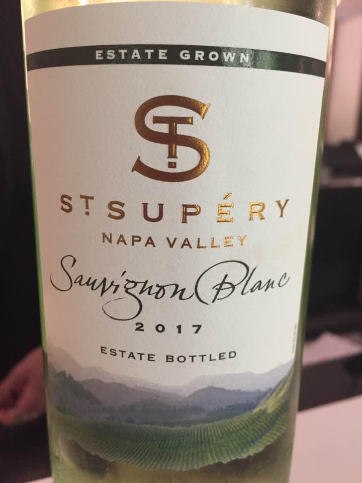 St Supéry – Sauvigon Blanc 2017 – Napa Valley
