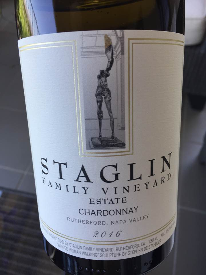 Staglin Family Vineyard Estate – Estate Chardonnay 2016 – Rutherford, Napa Valley