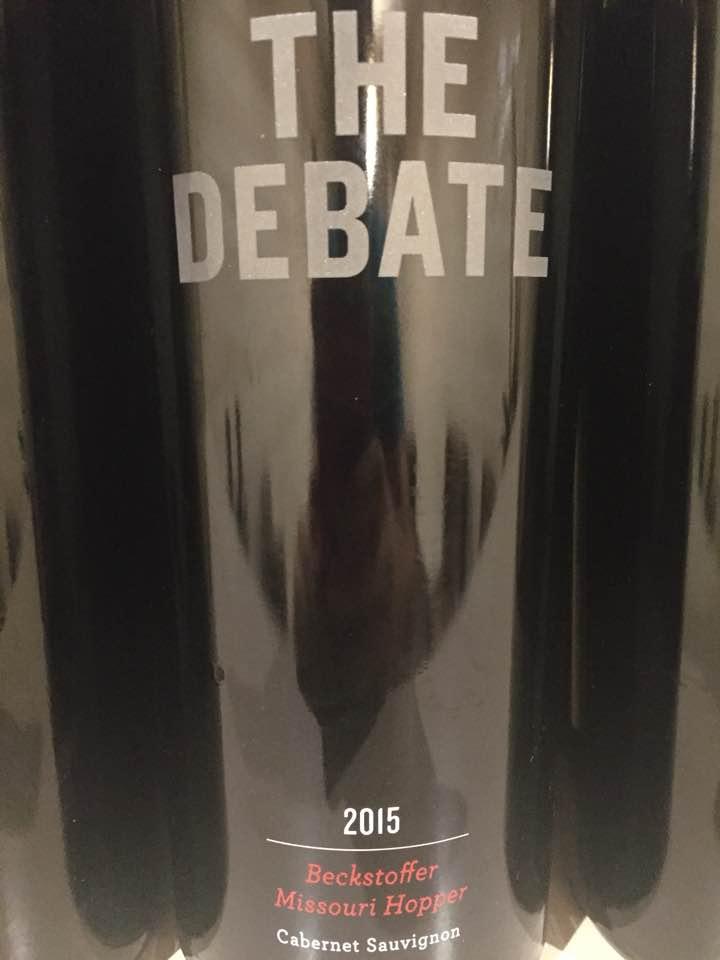 The Debate – Cabernet Sauvignon 2015, Beckstoffer Missouri Hopper – Napa Valley
