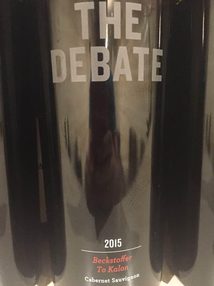 The Debate – Cabernet Sauvignon 2015, Beckstoffer To Kalon – Napa Valley