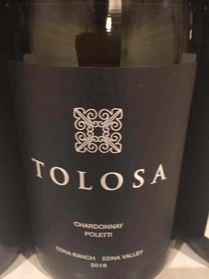 Tolosa – Chardonnay Poletti 2016, Single Vineyard – Edna Ranch, Edna Valley
