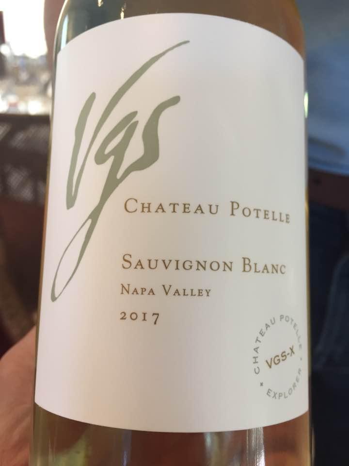 VGS Château Potelle – Sauvignon Blanc 2017 – Napa Valley