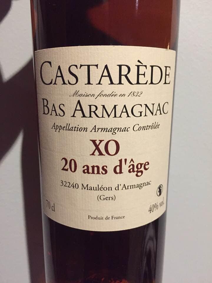 Castarède – XO 20ans d'âge – Bas-Armagnac