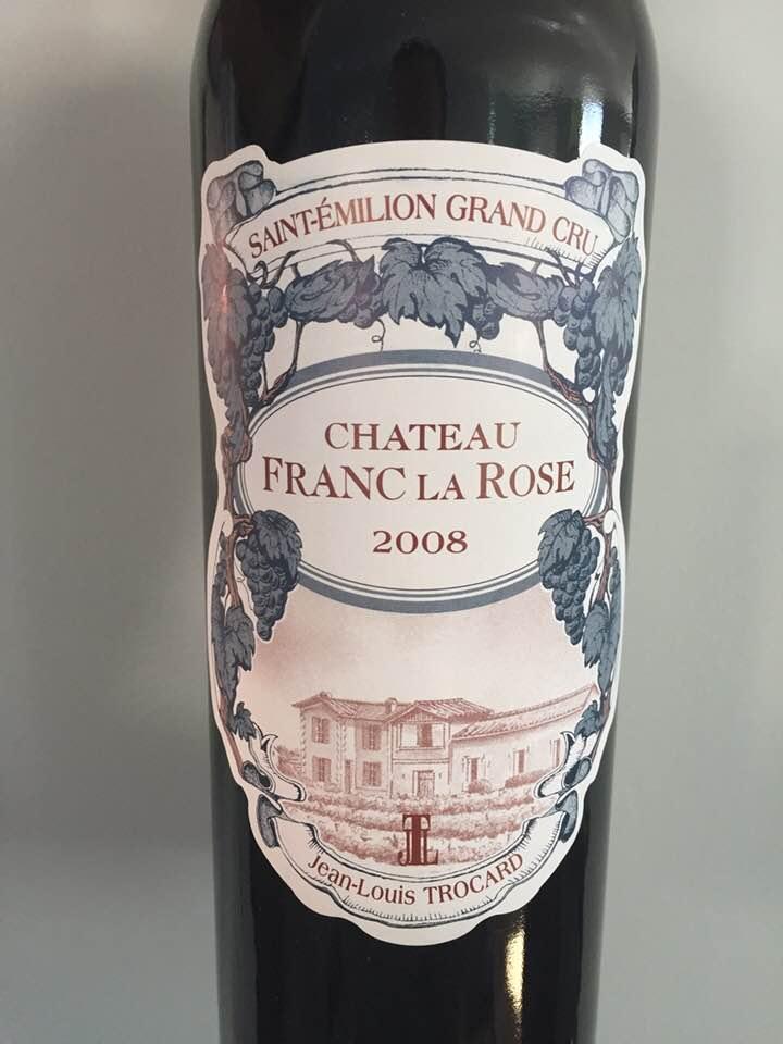 Château Franc La Rose 2008 – Saint-EmilionGrand Cru