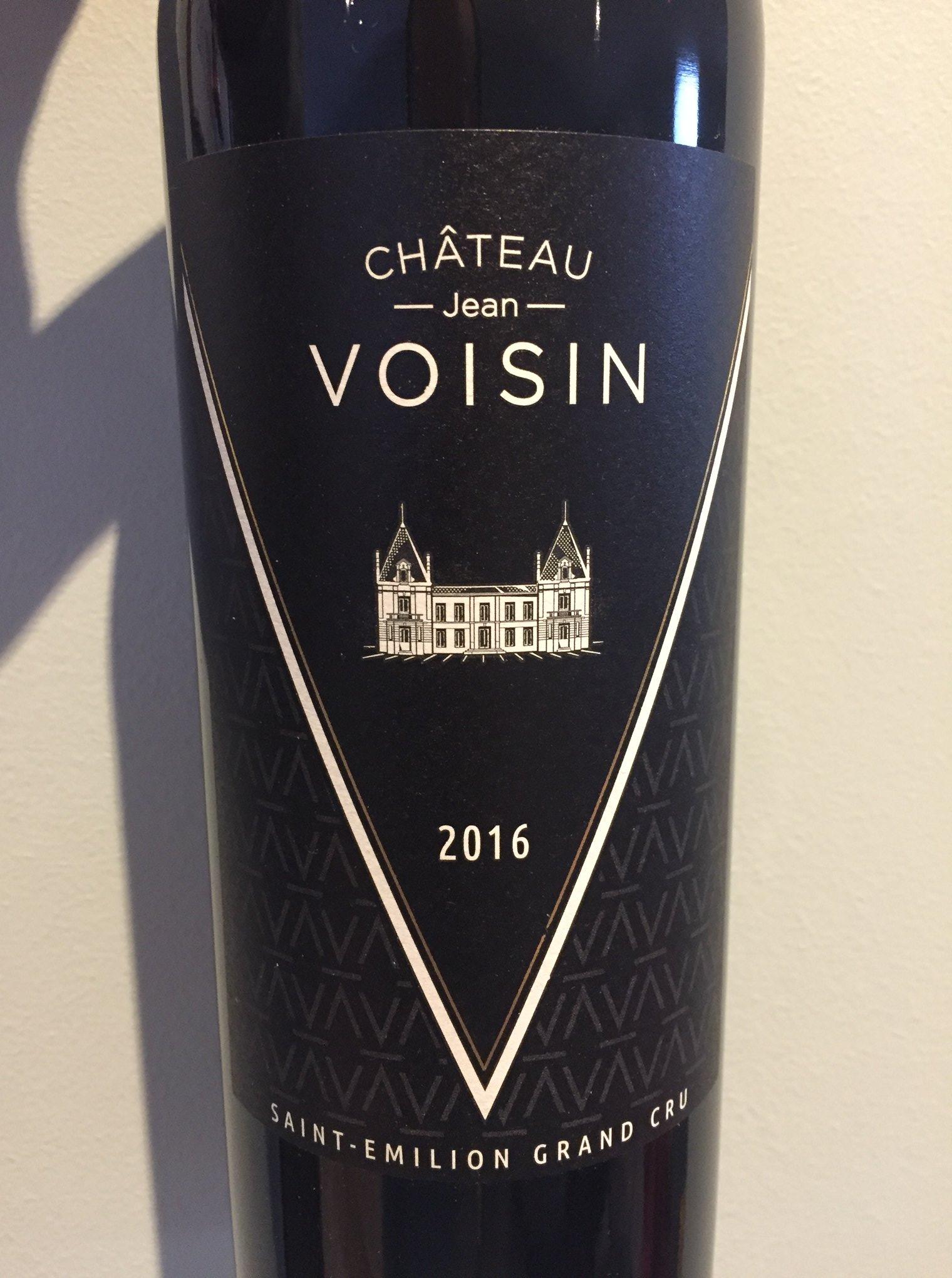 Château Jean Voisin 2016 – Saint-Emilion Grand Cru