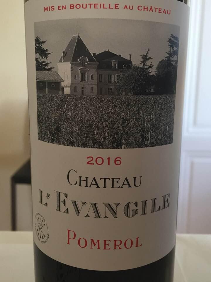 Château L'Evangile 2016– Pomerol