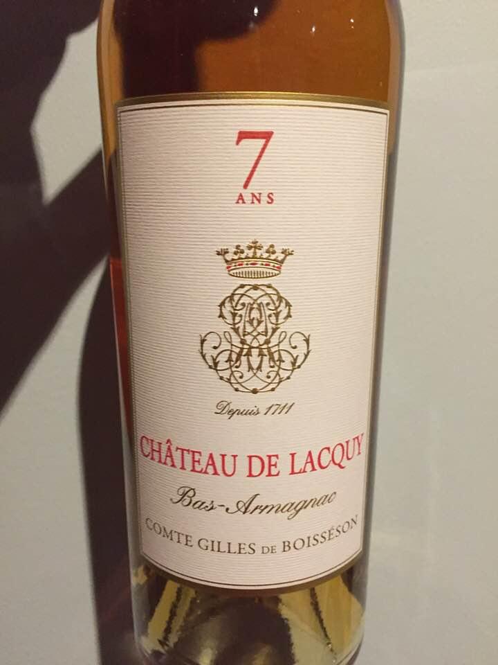 Château Lacquy – 7 ans – Bas-Armagnac
