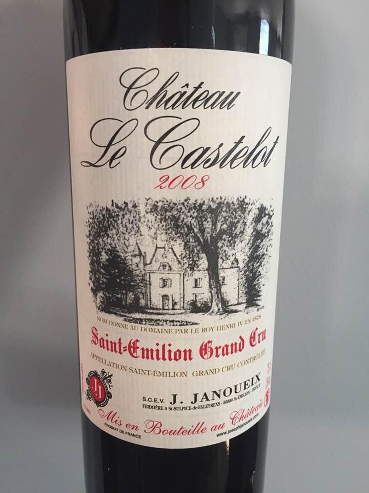 Château Le Castelot 2008 – Saint-EmilionGrand Cru