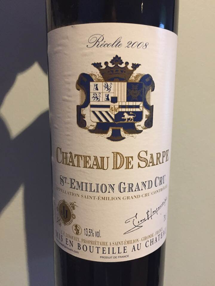 Château de Sarpe 2008 – Saint-Emilion Grand Cru