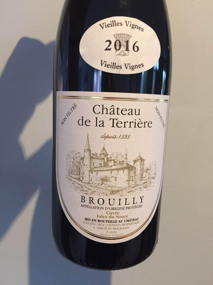 Château de la Terrière – Vieilles Vignes 2016 – Brouilly