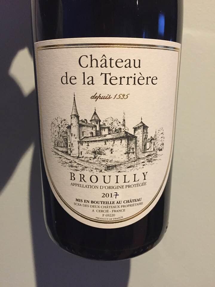 Château de la Terrière 2017 – Brouilly