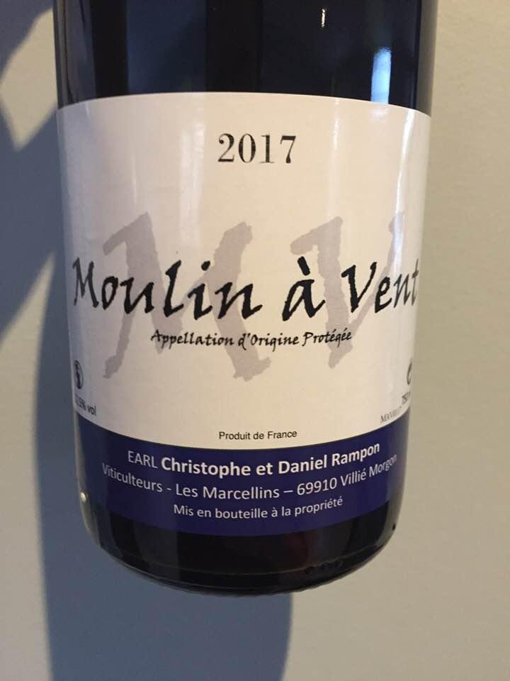 Christophe et Daniel Rampon 2017 – Moulin-à-Vent