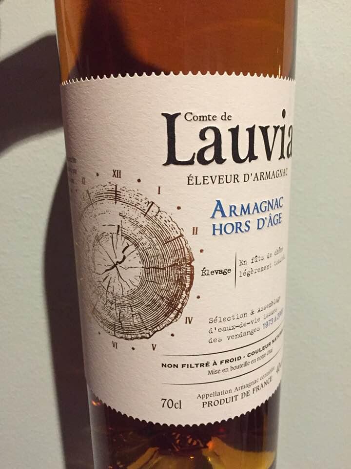 Comte de Lauvia – Hors d'Âge – Armagnac