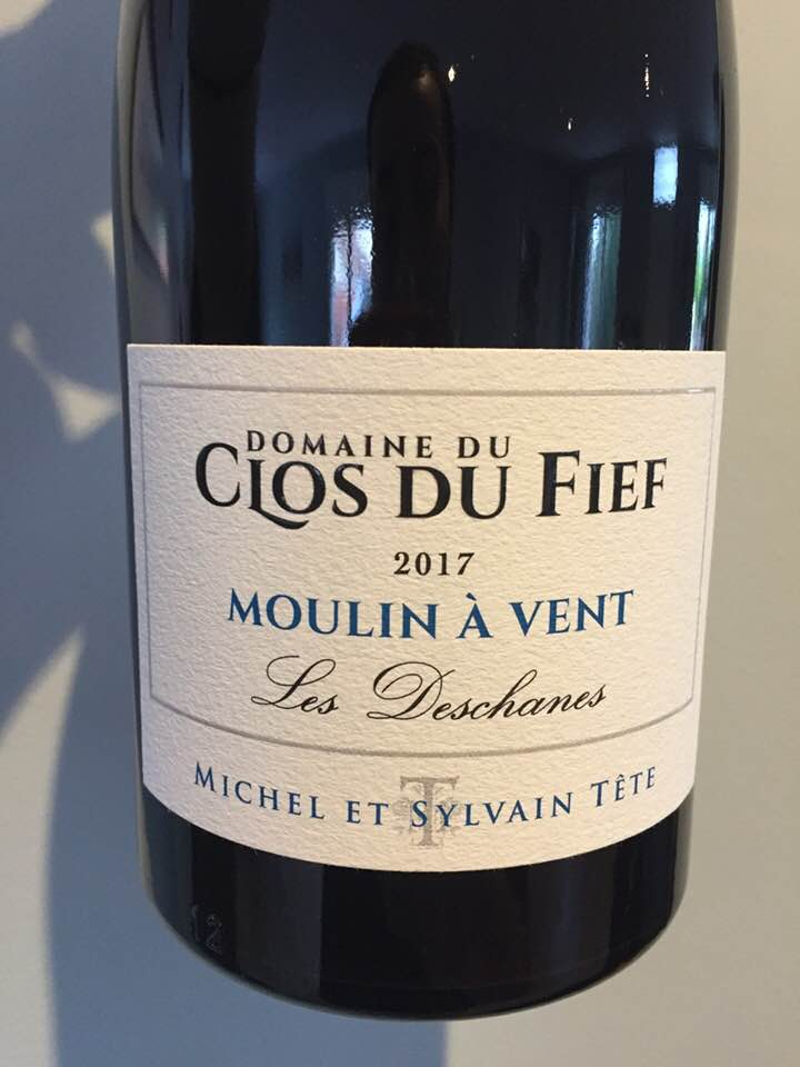 Domaine du Clos du Fief – Les Deschanes 2017 – Moulin-à-Vent