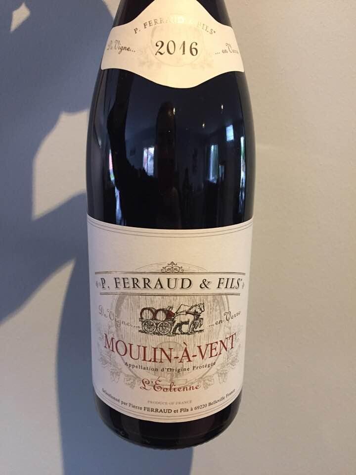 P. Ferraud & Fils – L'Eolienne 2016 – Moulin-à-Vent