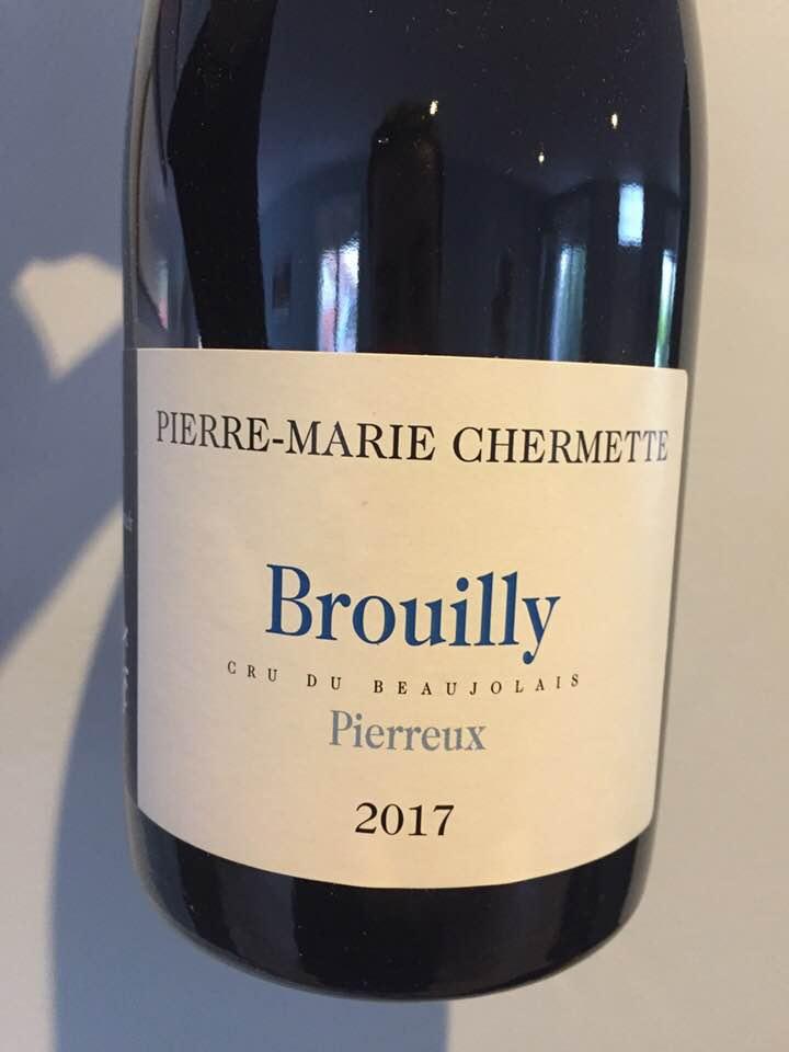 Pierre-Marie Chermette – Pierreux 2017 – Brouilly