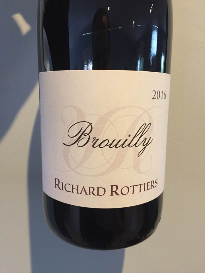 Richard Rottiers 2016 – Brouilly