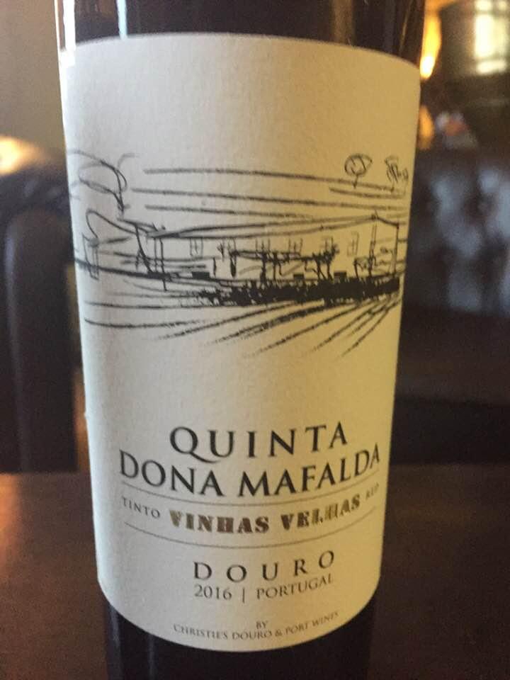 Quinta Dona Mafalda – Vinhas Velhas 2016– Douro